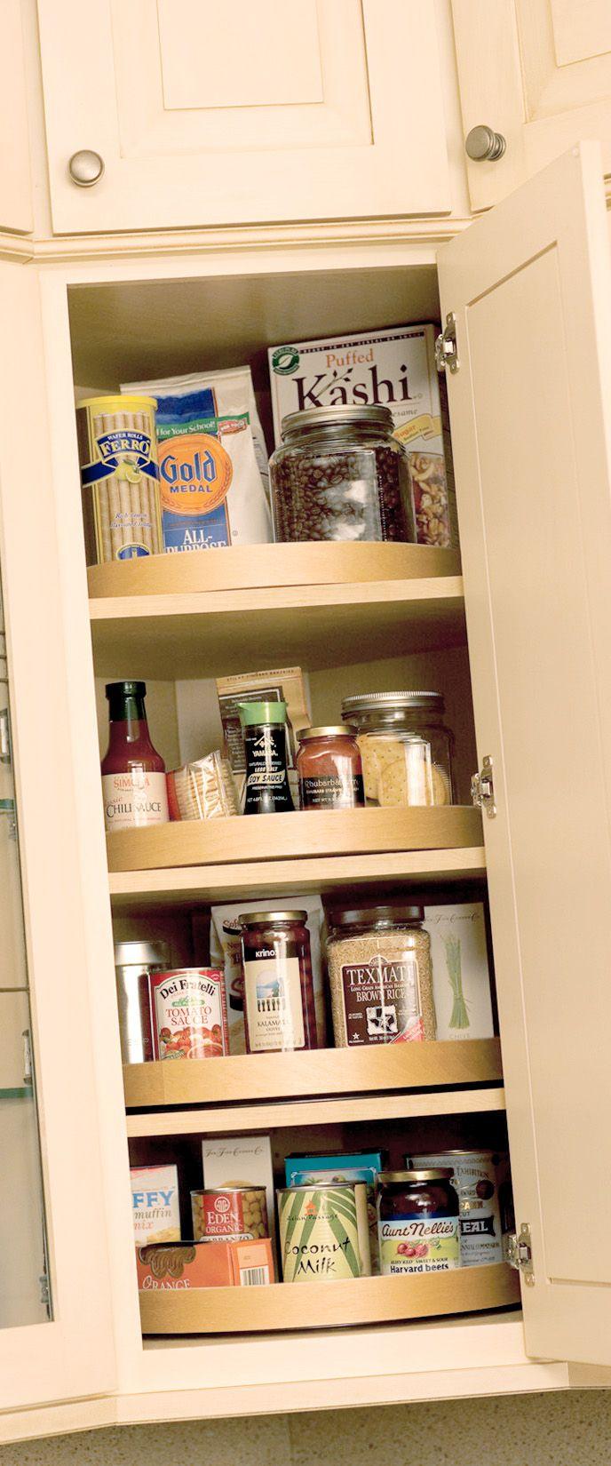 kitchen cabinet organization solutions