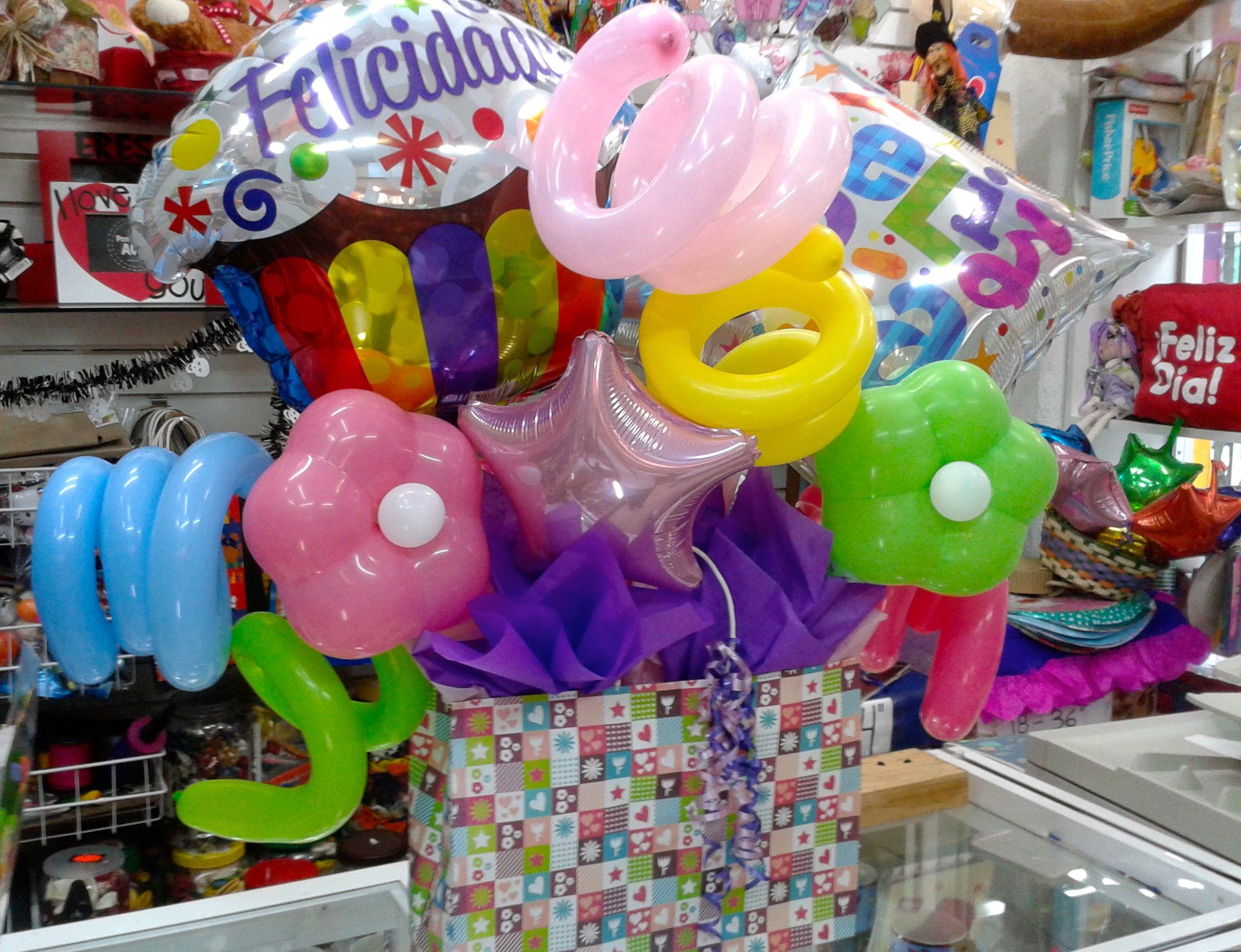 Envoltura con globos de cumplea os - Globos de cumpleanos ...