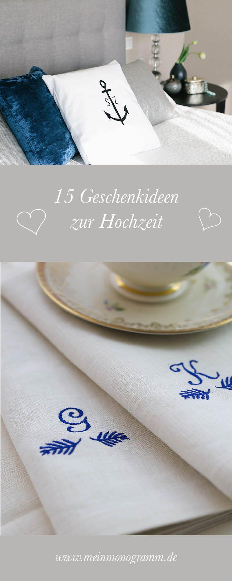 Unser Geschenke Zur Hochzeit Mit Initialen Eignen Sich Perfekt Als