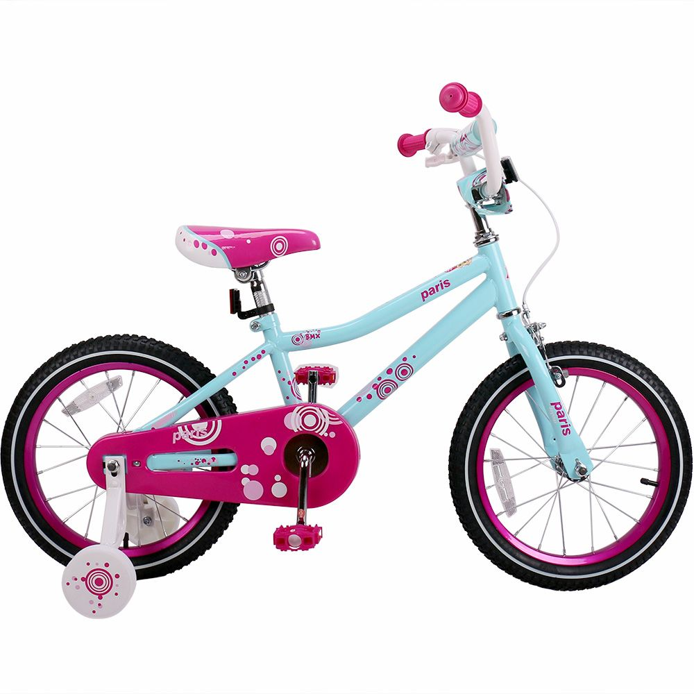 16 Paris Kids Bike For Girls Bike With Training Wheels Kids