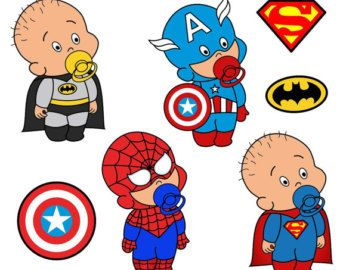 Baby Spiderman Clipart