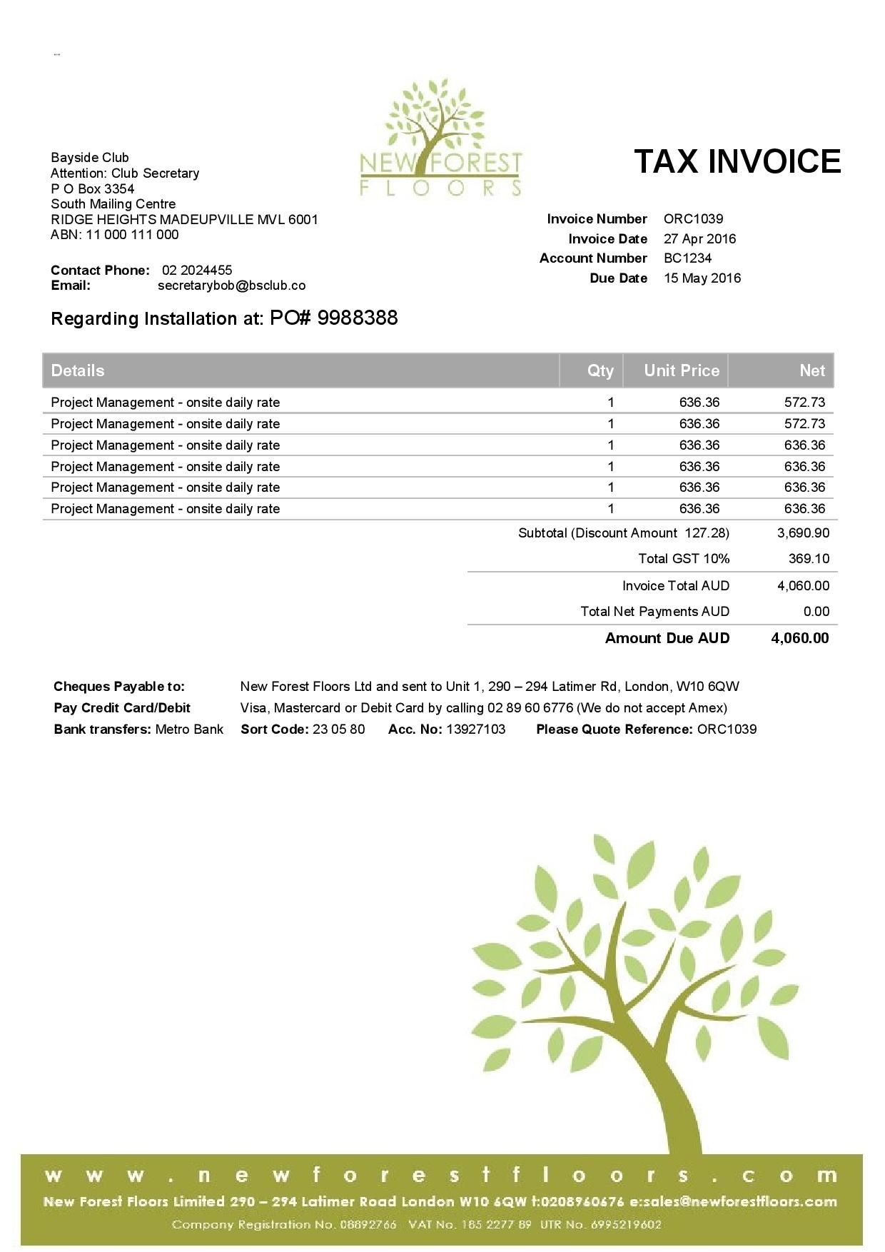 xero customised invoice | xero customized templates | pinterest, Invoice templates