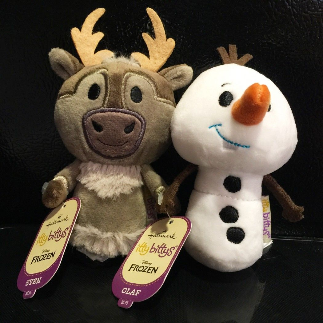 Hallmark Sven And Olaf Disney Frozen Itty Bittys Disney