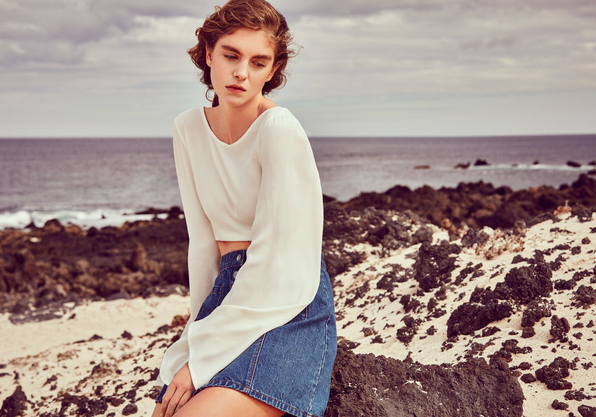 The New Bohemia with raw cotton bell sleeves and 70's silhouettes making a come back.