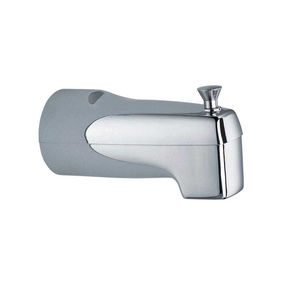 Moen Diverter 5 5 In Tub Spout With Slip Fit Connection In Chrome