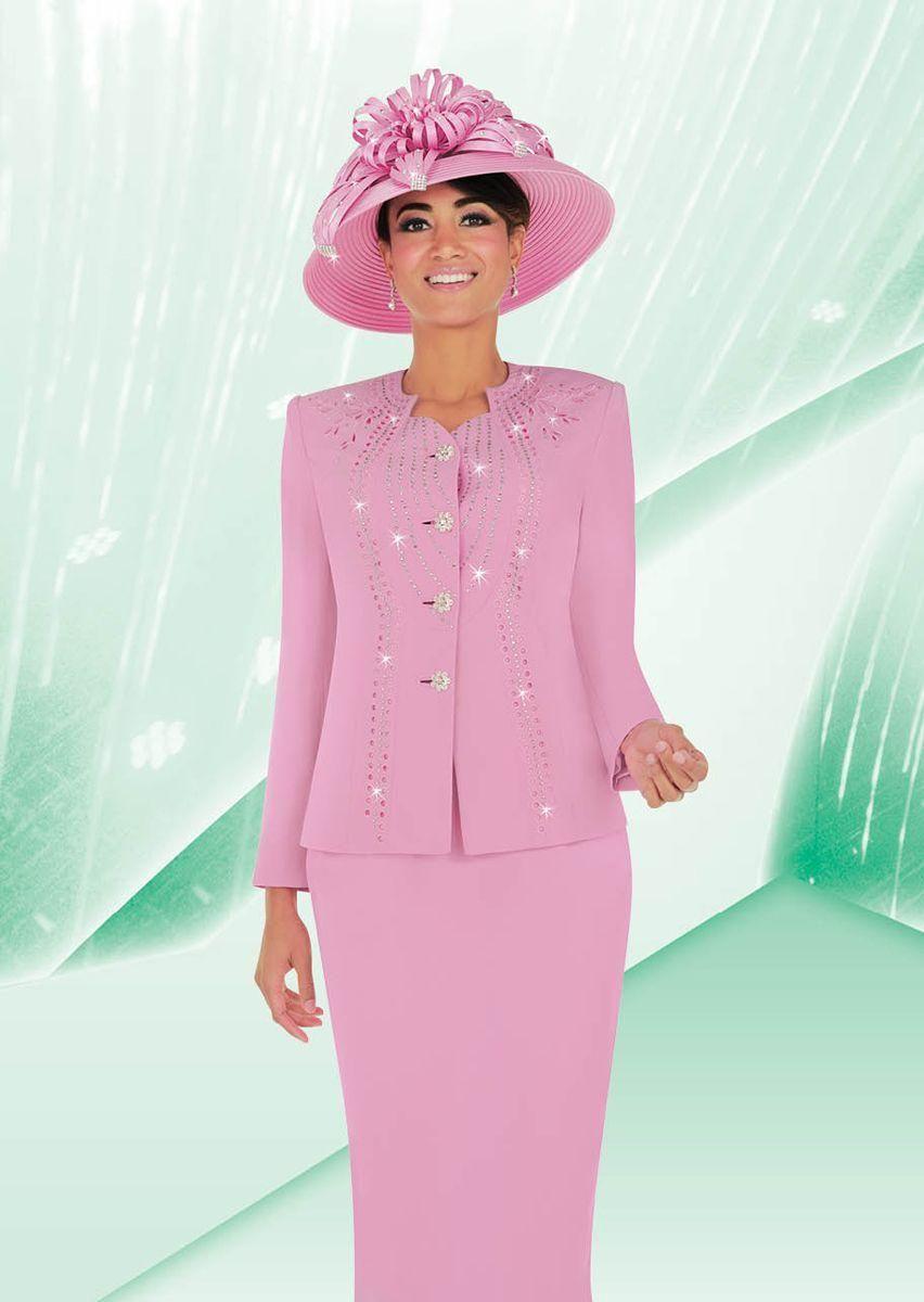 Women s 2 piece church suit features Micro fabric.  88ba88269e