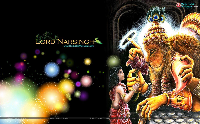 Lord Narsingh Wallpaper Hd Wallpapers Download Wallpaper Downloads Wallpaper Free Download Wallpaper