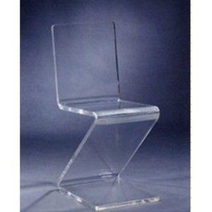 Beautiful Acrylic Plexiglass Lucite Z Chair Best Price Online
