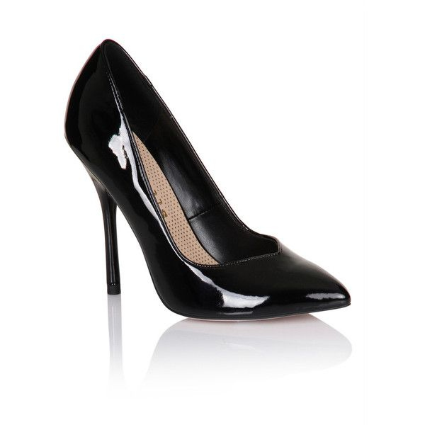 Patent Pointed Court Shoe | Pumps heels
