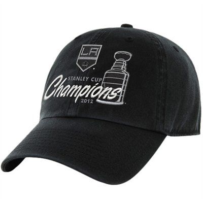 47 Brand Los Angeles Kings 2012 NHL Stanley Cup Final Champions Slouch Adjustable  Hat - Black 27c43252221e