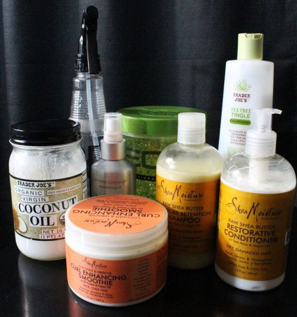 After The Big Chop: The Products I'm Using On My Natural