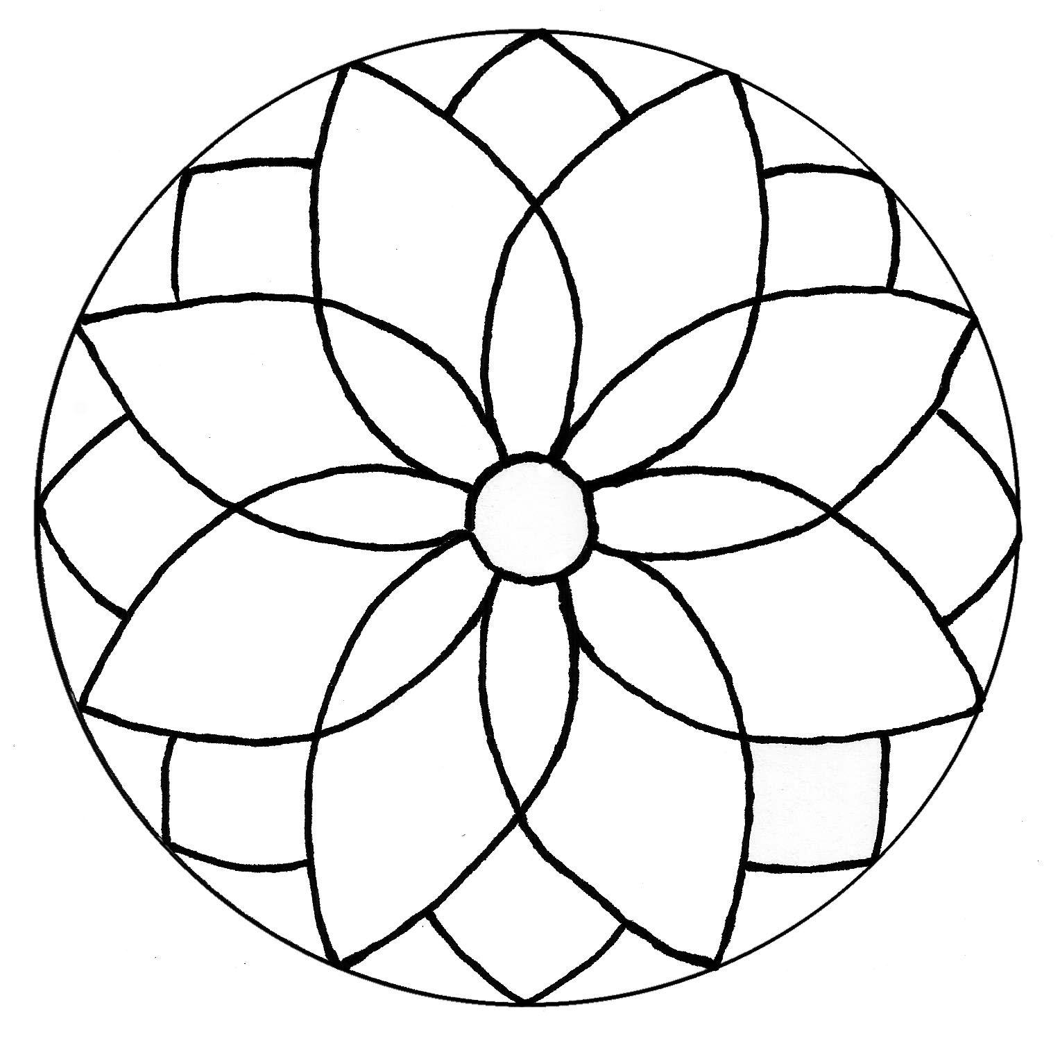 Resultado de imagen para moldes para mandalas en cd | Mandalas ...
