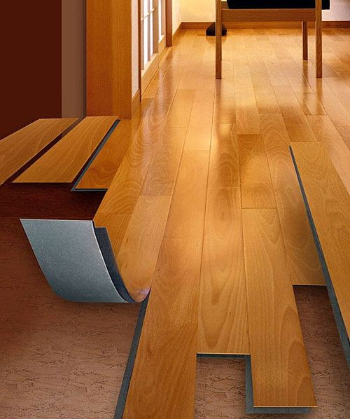 The GripStrip joining system makes for easy installation of the vinyl wood-plank  flooring - The GripStrip Joining System Makes For Easy Installation Of The