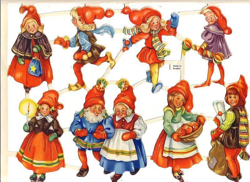Die-cut Scrap by Wallen Made in Sweden Gnomes (Image1)