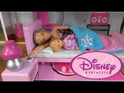 Barbie Vs Princess Cinderella Morning Routine Story With Barbie