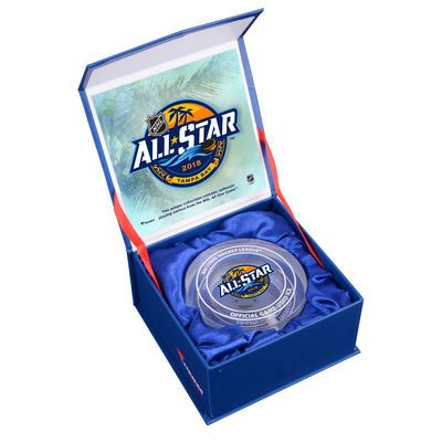 Fanatics Authentic 2018 NHL All-Star Game Crystal Puck - Filled With Ice  From The 2018 NHL All-Star Game - Limited Edition of 500 796053ccf