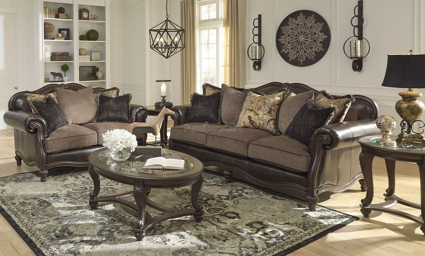 Winnsboro DuraBlend Vintage Living Room Set Signature Design