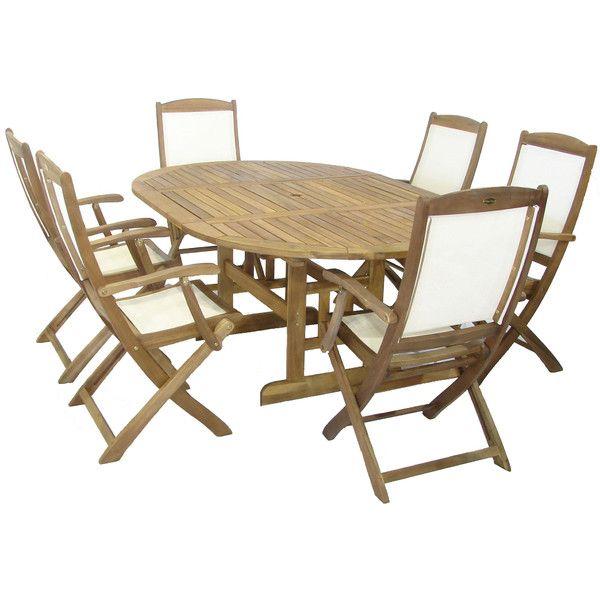Royal Craft Turnbury Henley 6 Seater Dining Set & Reviews | Wayfair ...