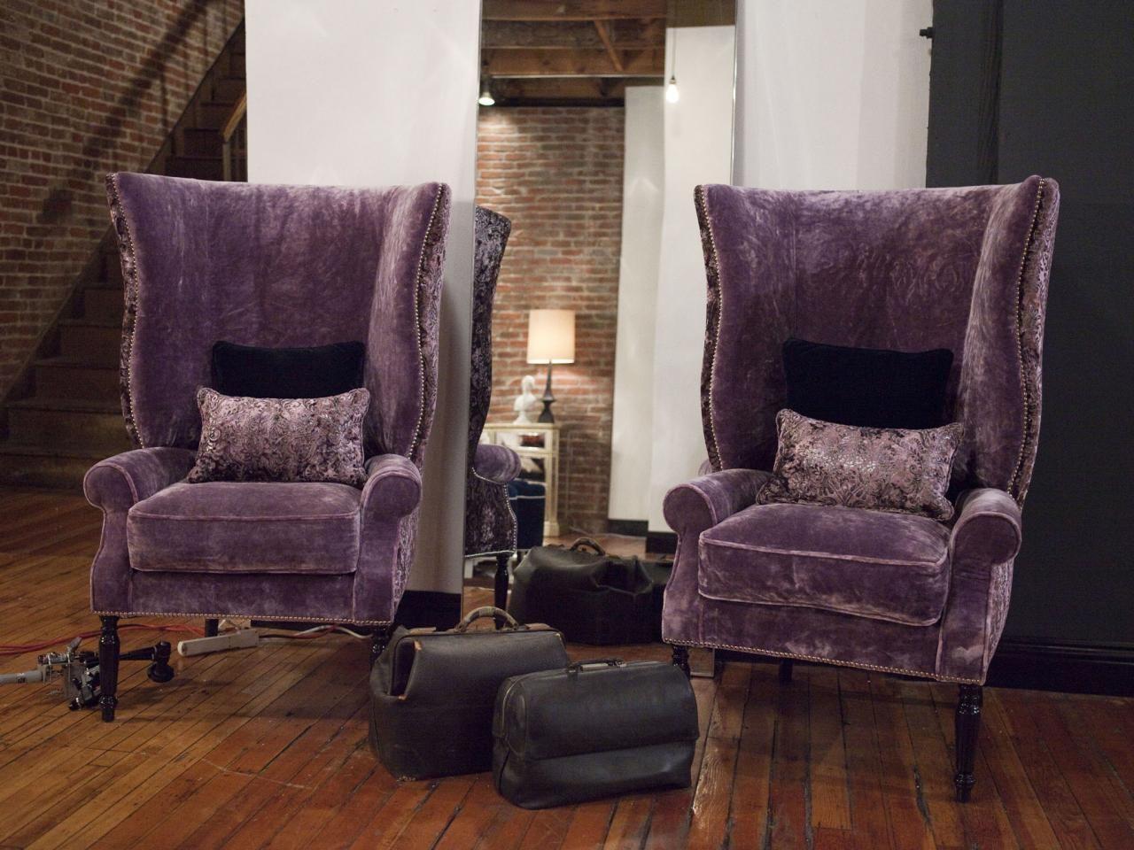 Velvet Accent Chairs Living Room