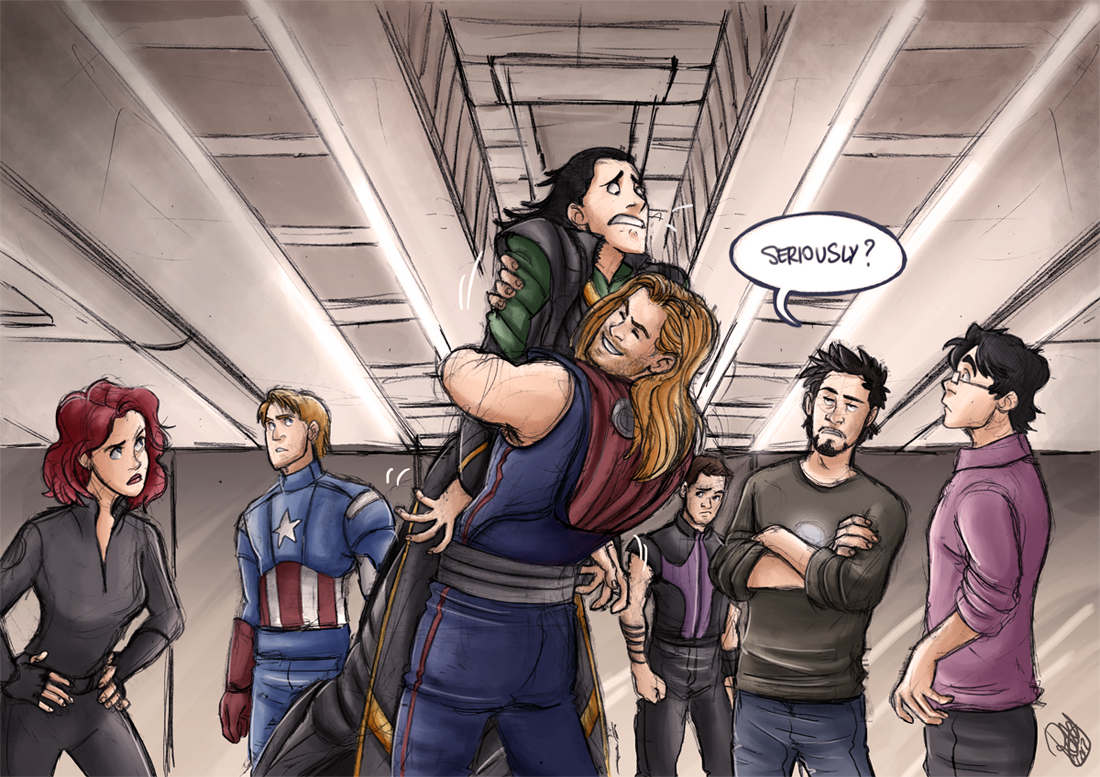The Brothers' Hug By Renny08.deviantart.com
