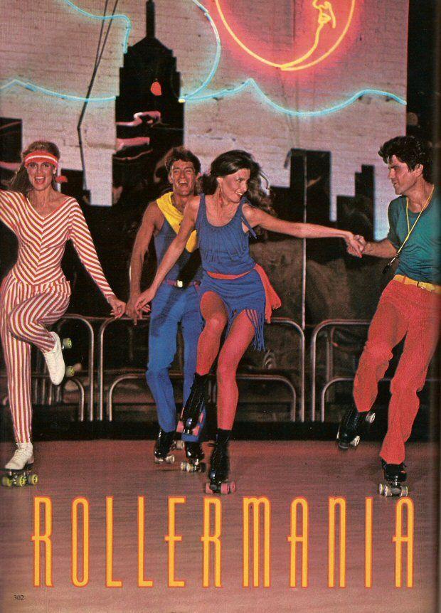 November 1980 Cosmo Disco Roller Skating Roller Skates Vintage Roller Skating Outfits