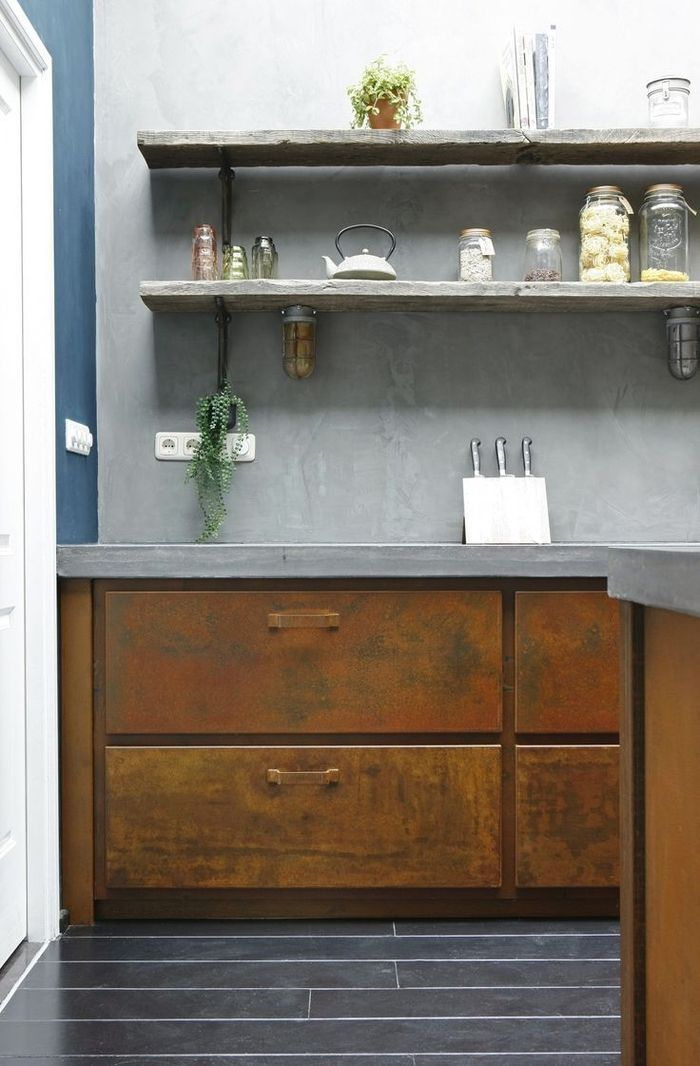 ▷ 1001+ idées déco pour aménager une cuisine style industriel ...