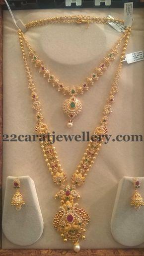 Trendy CZ Sets by Sri Mahalaxmi Jewellers
