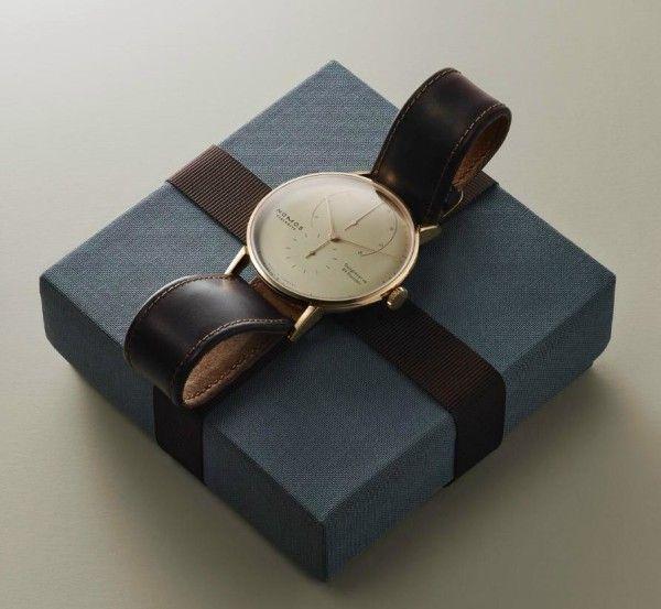 Nomos Glashütte Reveals Lambda Timepiece #watches #watchesformen #nomosglashutte