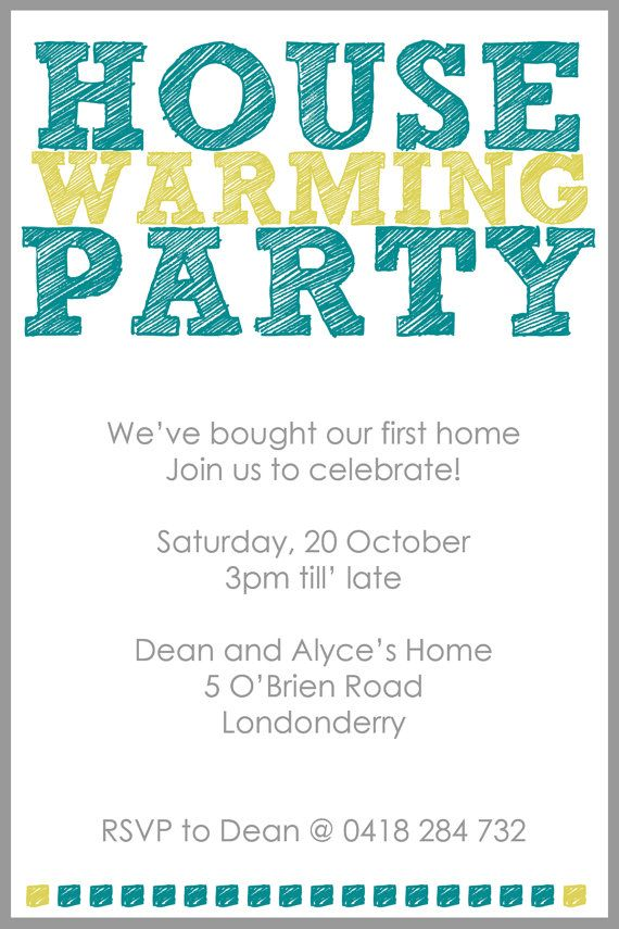 house warming diy printable party invitation in 2018 house