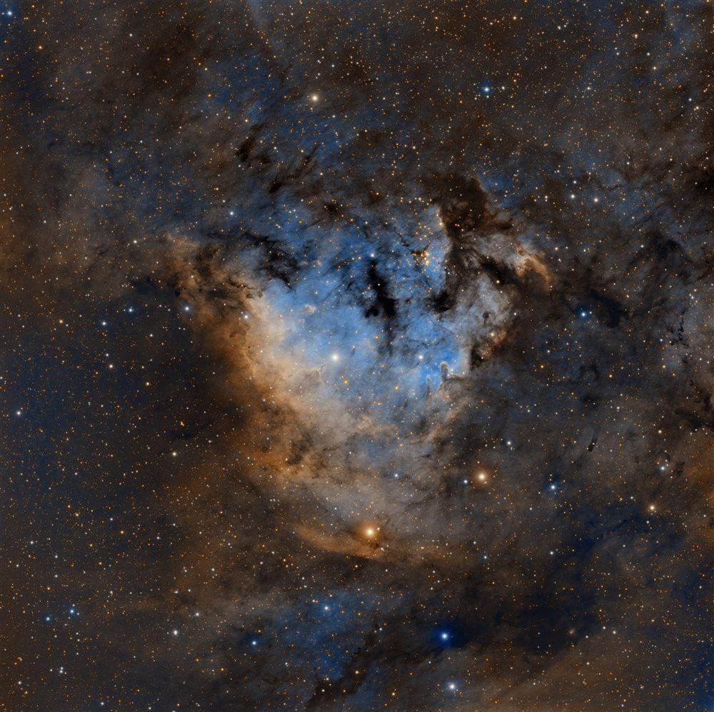 Sharpless 2-171 in SHO - Astronomy Magazine - Interactive ...