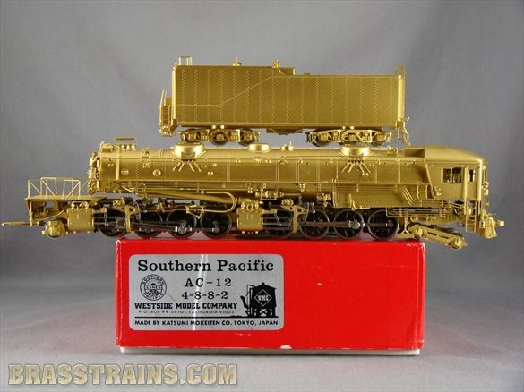 HO WMC SP Southern Pacific 4-8-8-2 AC-12 Cab-Forward  Sold for $995.00