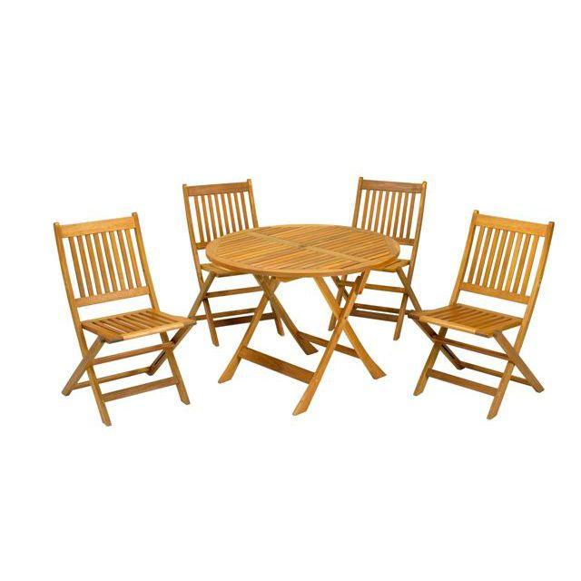 Elegant Manhattan 90cm 4 Seater Dining Set U2013 The UKu0027s No. 1 Garden Furniture Store