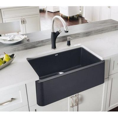 blanco ikon 29 32 l x 18 25 w kitchen sink rh pinterest cl