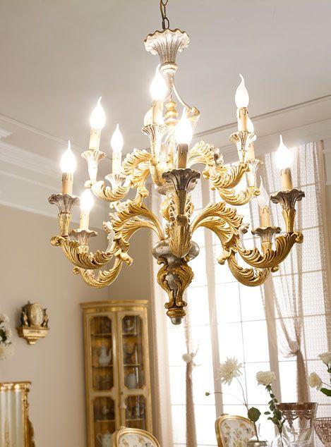 Italian Handmade Luxury Classic Light Fixtures Andrea Fanfani