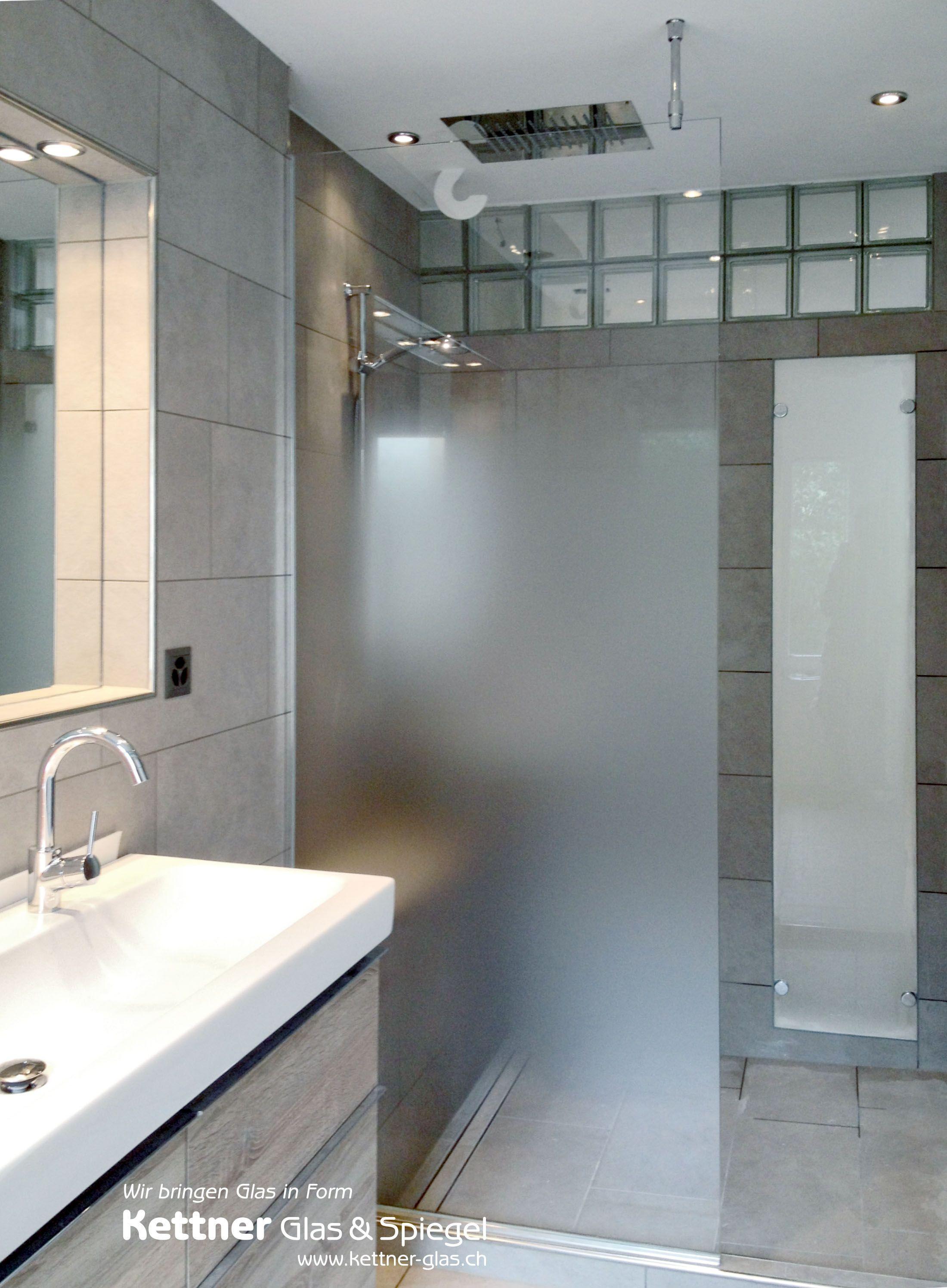 Progressiv Geatzte Duschtrennwand Und Satinato Festverglasung Von Ihrer Glaserei Das Glastrennwand Mit Progr Duschtrennwand Dusche Duschtrennwand Glas
