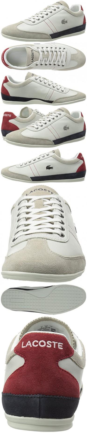 d790f075c Lacoste Men s Misano 15 Lcr Casual Shoe Fashion Sneaker