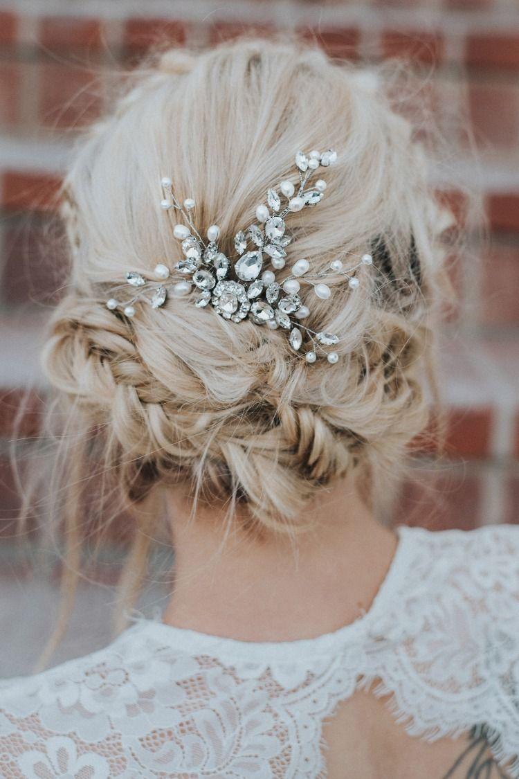 "our ""carmen"" medium bridal hair comb has an elegant yet"