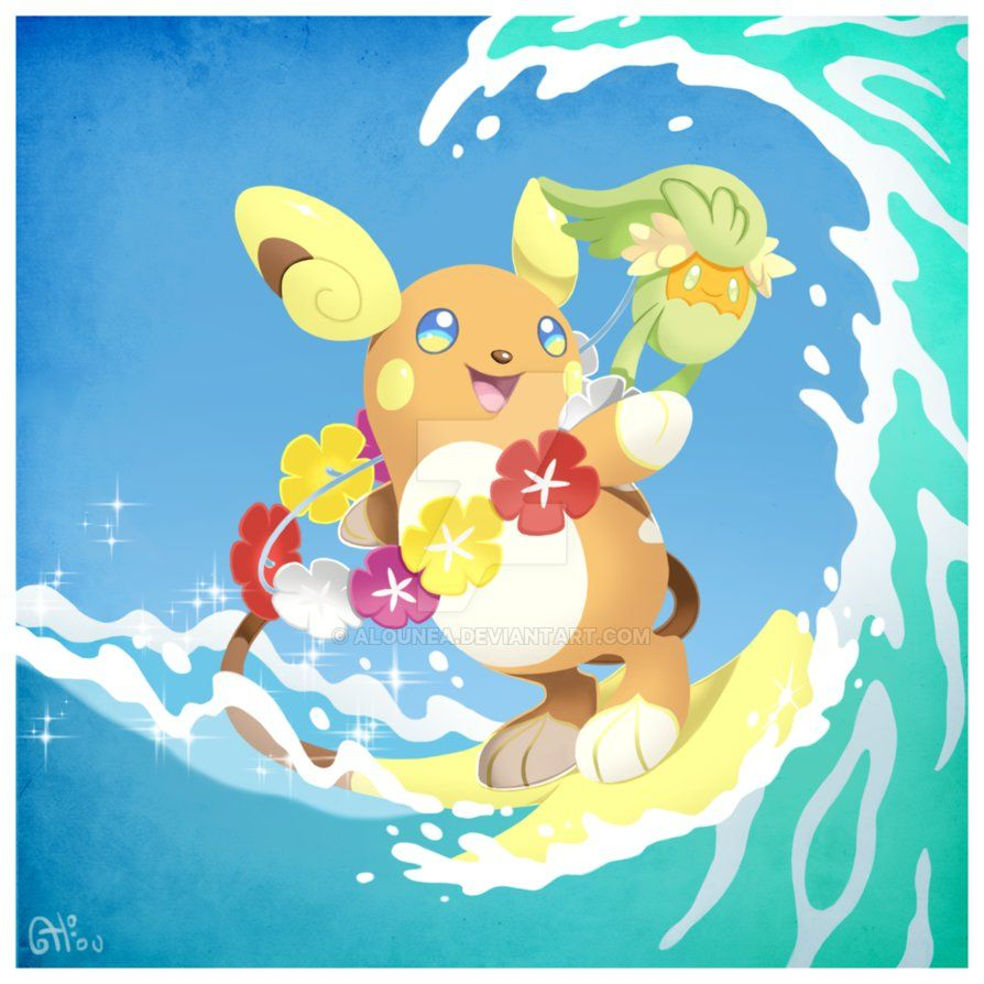 78fd2d21 Alolan Raichu and Comfey by AlouNea on DeviantArt | Pokemon ...