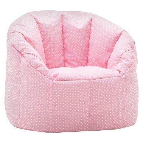 Nice Kids Bean Bag Chair Big Joe Fun Pink