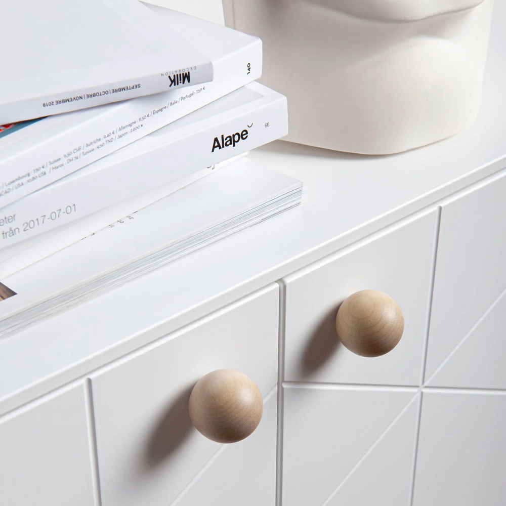Furniture Handle Mini Balls In Brass Copper And Aluminium Superfront In 2020 Furniture Handles Mini Ball