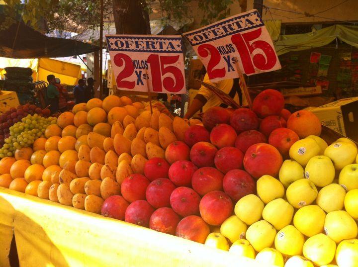 Mercado de la Merced in Venustiano Carranza, Federal District.
