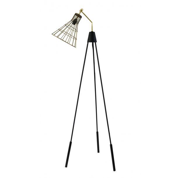 Antonello Floor Lamp Gold   Memoky.com