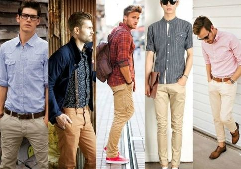 2f51ec3f4d3a9 What color shirt goes well with khaki pants  - Quora