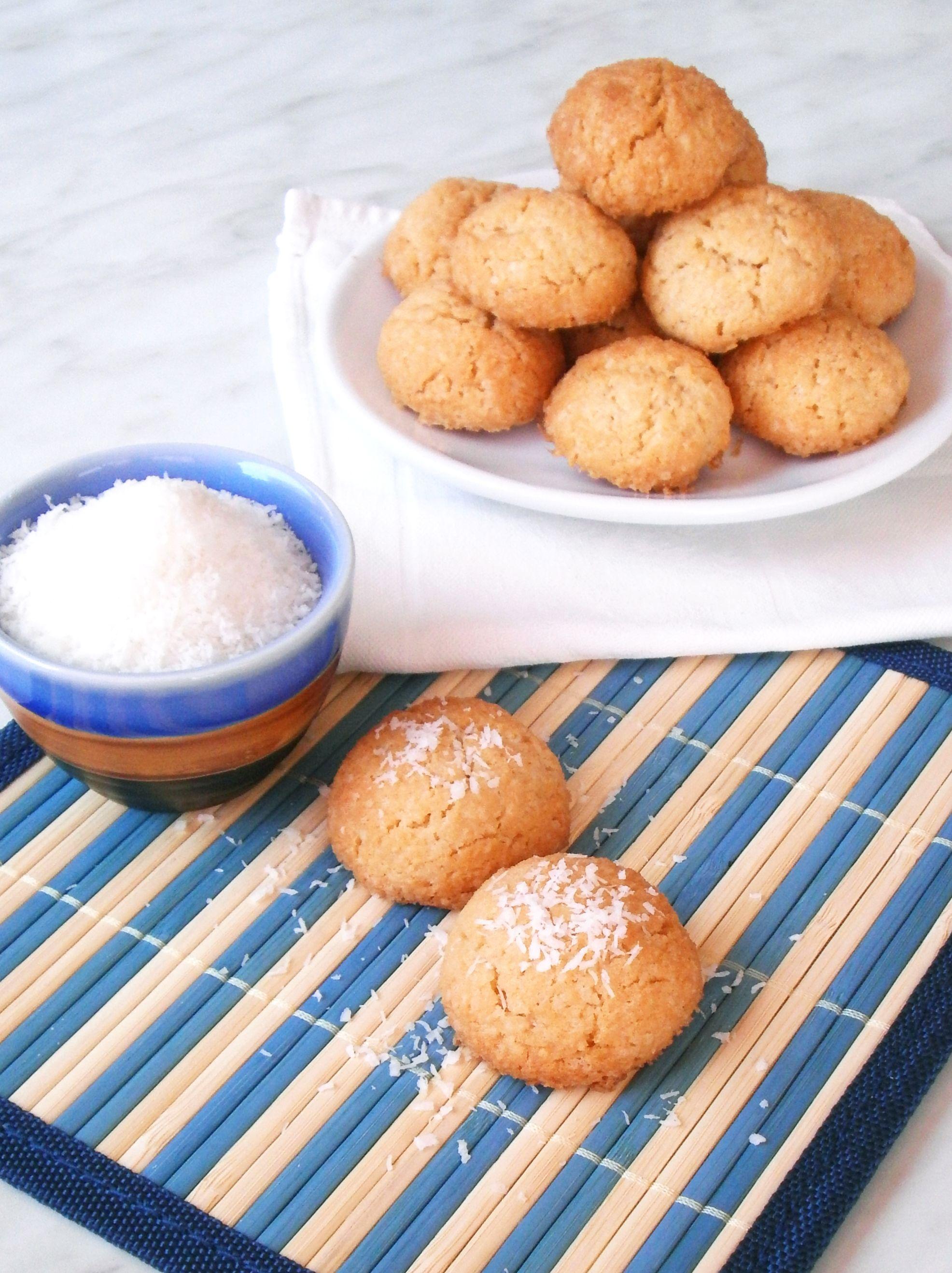 Dolcetti al cocco / Coconut biscuits