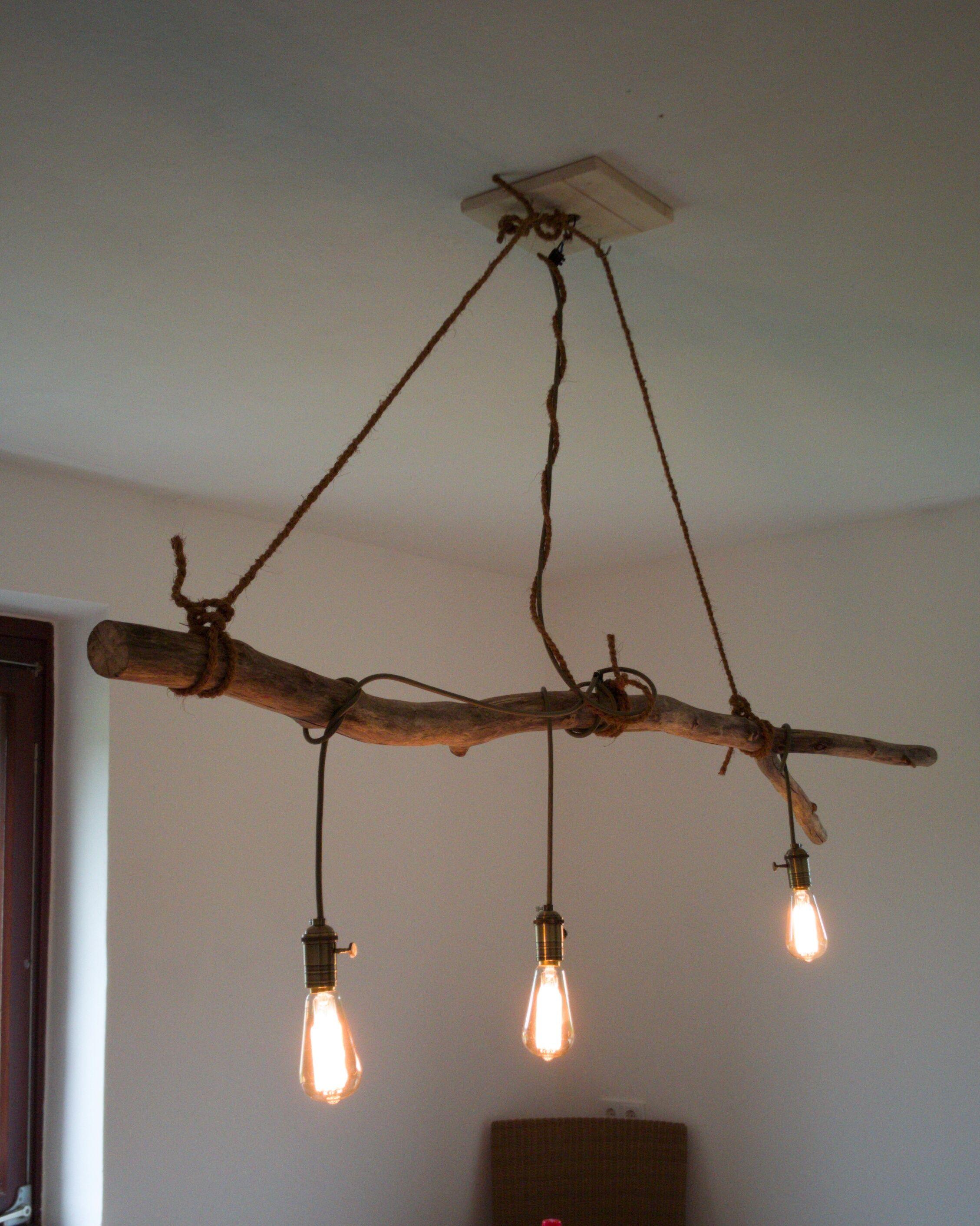 Lampe Höhenverstellbar Selber Bauen : lampe aus treibholz selbstgebaut in 2019 treibholz ~ Watch28wear.com Haus und Dekorationen