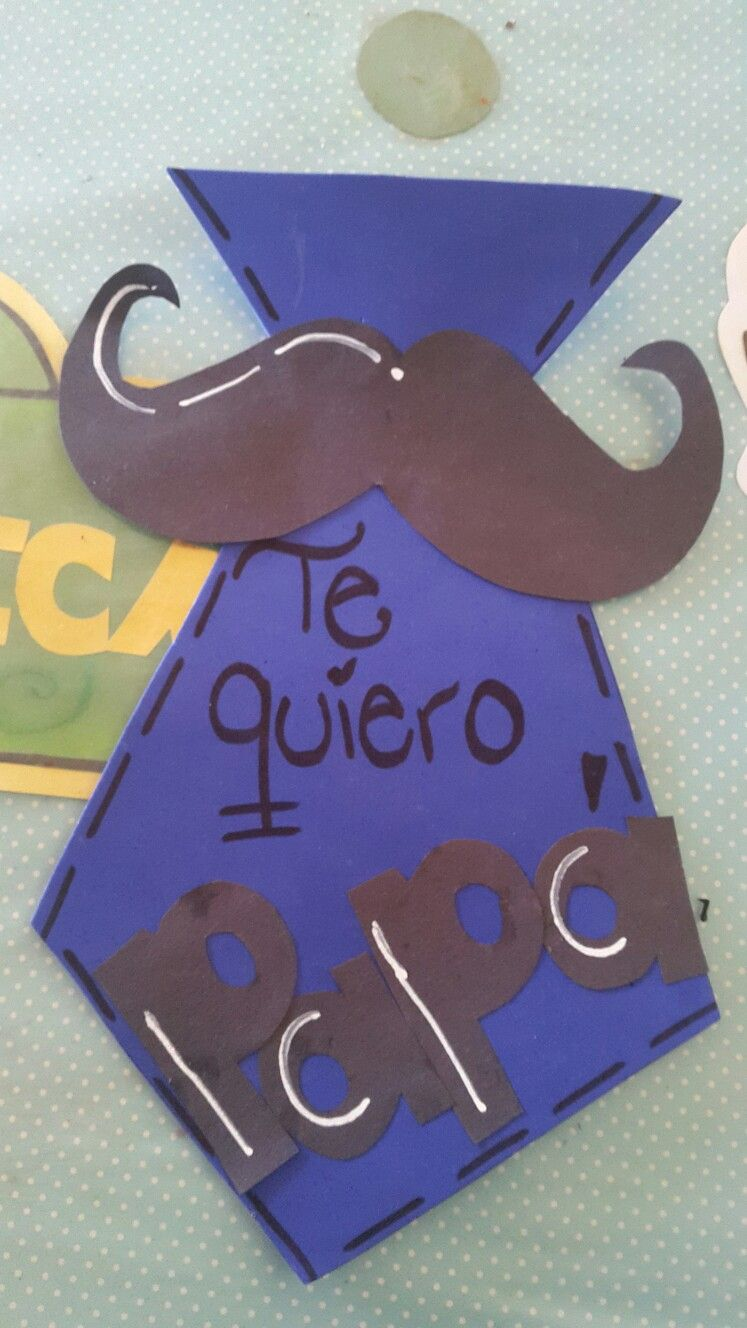 Tarjeta Día Del Padre Classroom Ideas Pinterest Vaderdag