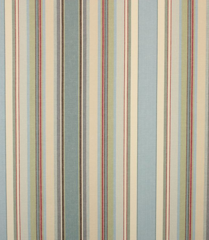 Great stripe fabric made from 100% cotton. Suitable for curtains and upholstery. Buy online or from one of our fabric shops in Burford, Oxfordshire or Cheltenham, Gloucestershire - in the heart of the Cotswolds. Why not take advantage of our made to measure service and have your curtains and blinds hand made in our Cotswold workroom. Click the 'create curtains/blinds' button to get started.