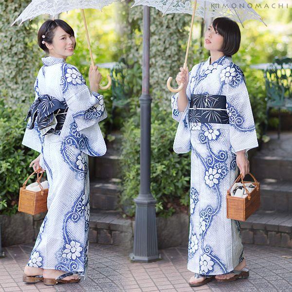 絞り 女性浴衣 夏着物、浴衣に | Kimono【2019】 | 浴衣、浴衣 女性 ...
