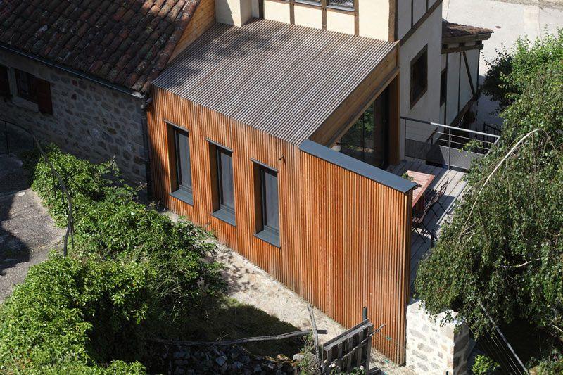 Extension de maison, Laroquebrou (15), 2010 atelier d\u0027architecture - faire une extension de maison