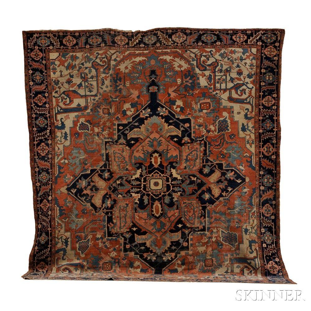 Serapi Carpet | Sale Number 2653B, Lot Number 114 | Skinner Auctioneers